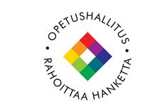 Opetushallitus rahoittaa hanketta -logo