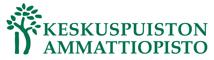 Keskuspuiston ammattiopiston logo